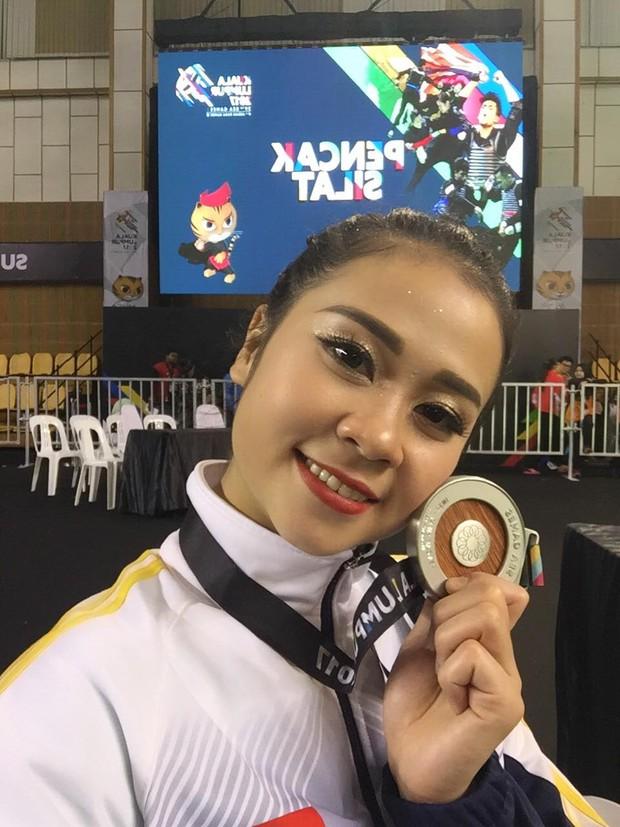Hoa khôi làng võ vẫn ấm ức vì không thắng được trọng tài ở SEA Games 29 - Ảnh 2.