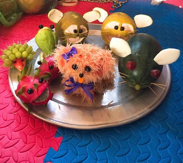 Phát hiện mới: Bánh Trung thu hình chiếc răng sâu, mâm cỗ trái cây hóa trang như chơi Halloween - Ảnh 15.