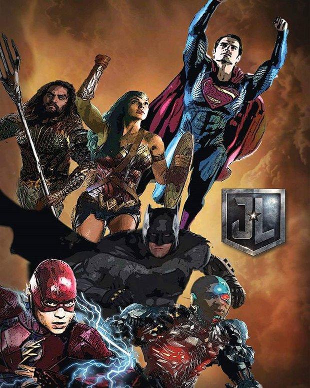Fan hoang mang khi thấy poster mới xuất hiện của Justice League xấu đau đớn - Ảnh 6.