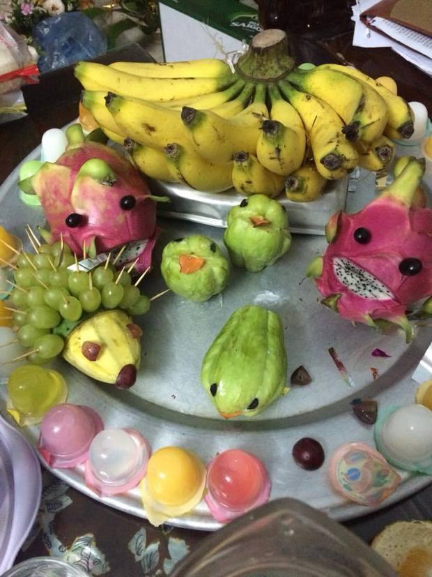 Phát hiện mới: Bánh Trung thu hình chiếc răng sâu, mâm cỗ trái cây hóa trang như chơi Halloween - Ảnh 7.