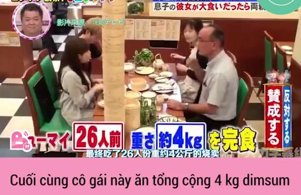Cô gái Nhật ăn hết phần ăn dimsum của 26 người khi đi ra mắt - Ảnh 4.