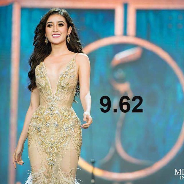 Huyền My được chuyên trang sắc đẹp Global Beauties chấm điểm cao thứ 3 sau đêm thi Bán kết - Ảnh 2.