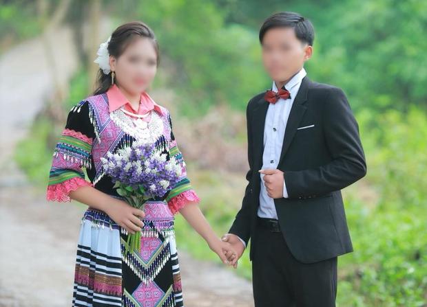 Người chụp bộ ảnh cưới cô dâu 13 tuổi cùng chú rể 16 tuổi ở Lào Cai: Do tục lệ của người dân tộc HMông như vậy - Ảnh 2.