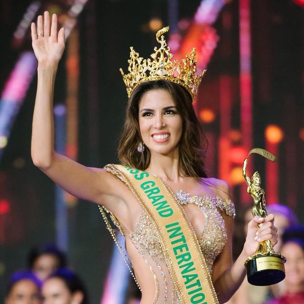 Ngắm gương mặt và vóc dáng tuyệt vời như nữ thần của Hoa hậu đăng quang Miss Grand International 2017 - Ảnh 1.