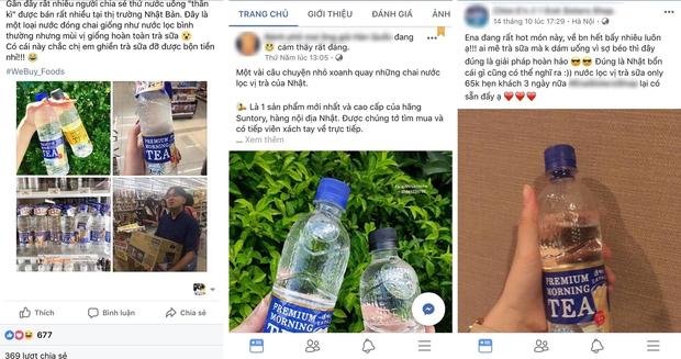 Nước lọc vị trà sữa đang hot ầm ĩ ở Nhật đã có mặt tại Việt Nam và đây là sự thật về nó - Ảnh 2.