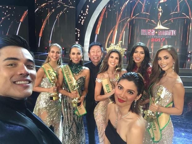 Chàng MC đêm chung kết Miss Grand International 2017 bỗng hot không kém Hoa hậu vì quá đẹp trai - Ảnh 1.