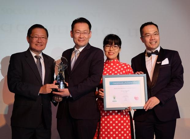 CGV nhận giải thưởng doanh nghiệp trách nhiệm châu Á 2017 - Ảnh 1.