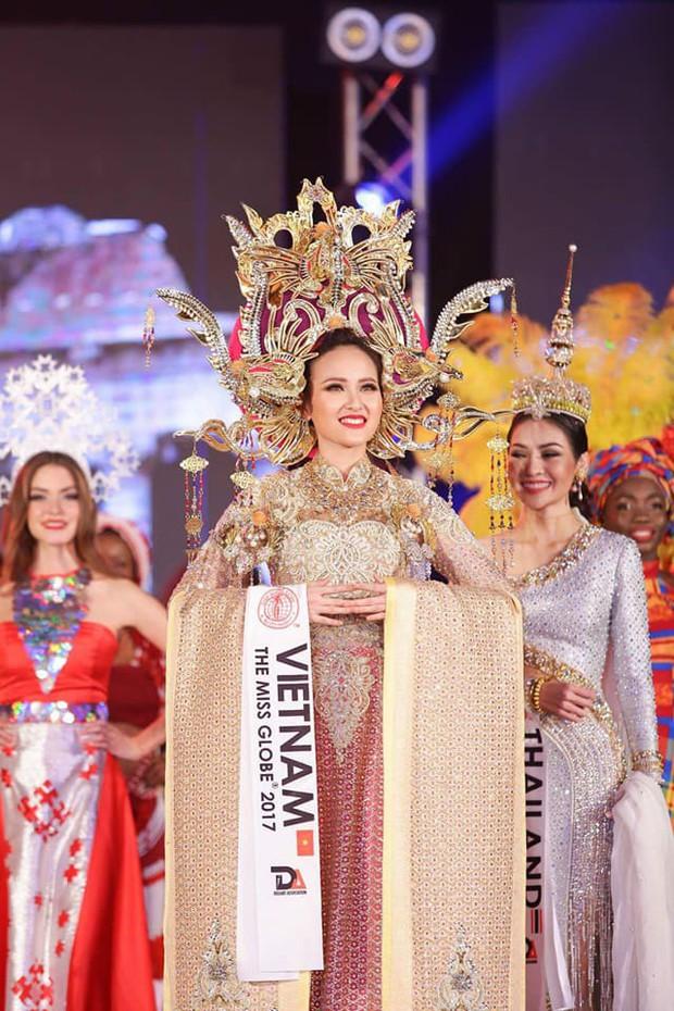Khánh Ngân và những chia sẻ đầu tiên sau khi đăng quang Hoa hậu Hoàn cầu 2017 - Ảnh 3.