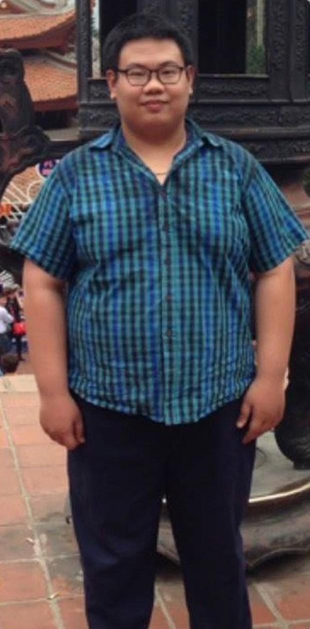 Hành trình giảm 60kg trong 6 tháng của cậu sinh viên béo phì suốt ngày bị bạn bè cười chê - Ảnh 1.