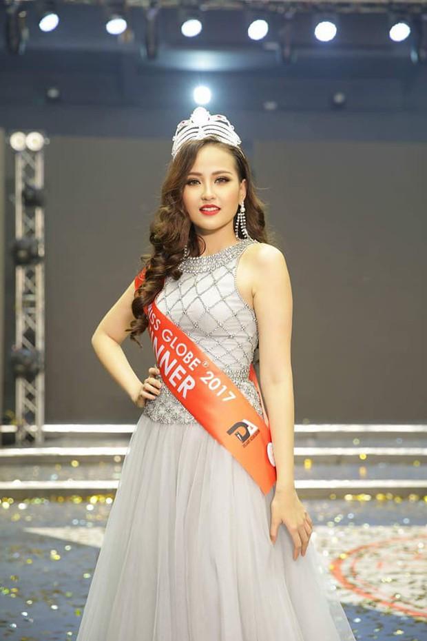 Khánh Ngân và những chia sẻ đầu tiên sau khi đăng quang Hoa hậu Hoàn cầu 2017 - Ảnh 2.