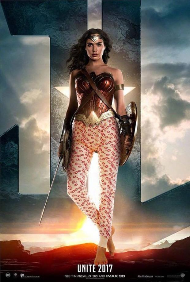 Cười lăn khi siêu anh hùng Justice League bận đồ không giống ai đi cứu thế giới - Ảnh 6.