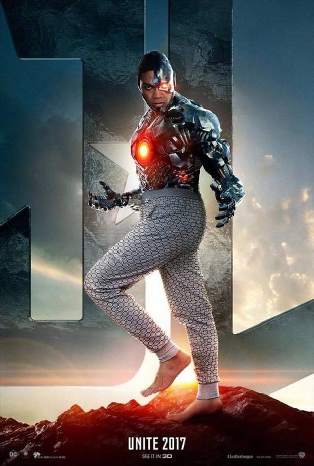 Cười lăn khi siêu anh hùng Justice League bận đồ không giống ai đi cứu thế giới - Ảnh 5.