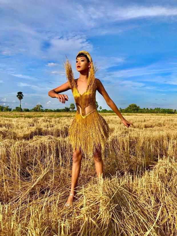 Thiên thần Victorias Secret phiên bản nông nghiệp Thái Lan khoe dáng nuột nà trong bộ ảnh mới - Ảnh 6.