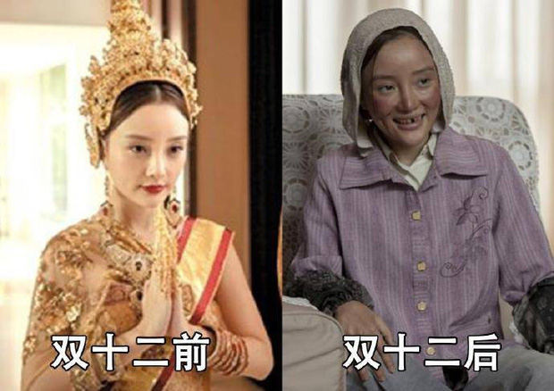 Chùm ảnh chế: Phạm Băng Băng - Triệu Vy tàn tạ đến nhường nào sau ngày mua sắm giảm giá - Ảnh 2.