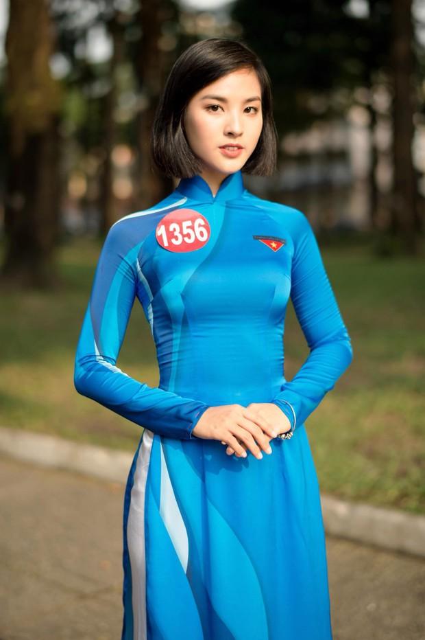 Không chiến thắng nhưng Á khôi 1 (Hoa khôi Sinh viên Việt Nam) vẫn gây chú ý vì quá xinh và đa tài - Ảnh 3.