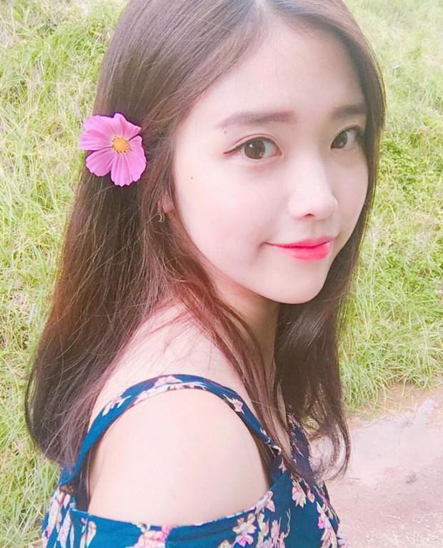 Vẻ đẹp mong manh của cô gái Hàn 21 tuổi được ví như bản sao IU - Ảnh 3.