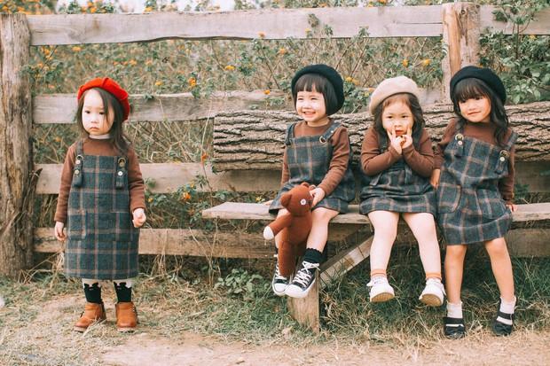 Mẹ chơi với nhau thời ĐH, lên 3 tuổi các con đã có bộ ảnh cùng hội bạn thân siêu đáng yêu - Ảnh 5.
