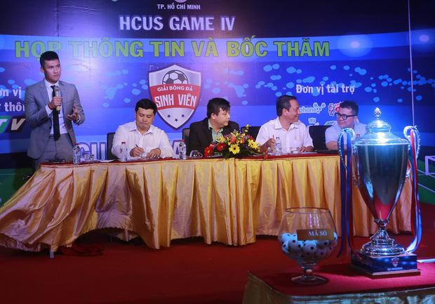 Công Vinh cử tuyển trạch viên theo dõi Giải bóng đá Sinh viên TP.HCM 2017 - Ảnh 2.