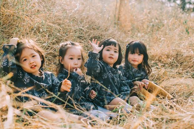 Mẹ chơi với nhau thời ĐH, lên 3 tuổi các con đã có bộ ảnh cùng hội bạn thân siêu đáng yêu - Ảnh 3.
