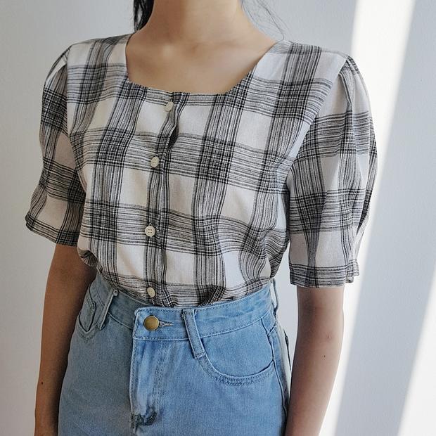 Đi học cũng nên diện đồ thật xinh, và đây là 5 kiểu áo sơmi xinh nức nở cho các nàng mùa back to school - Ảnh 9.