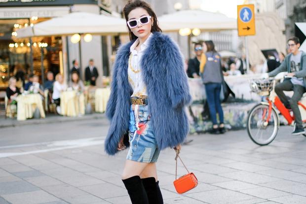 Tới Milan Fashion Week, Kỳ Duyên đầu tư kỹ lưỡng và xuất hiện ngay trên hàng ghế đầu show Moschino - Ảnh 5.