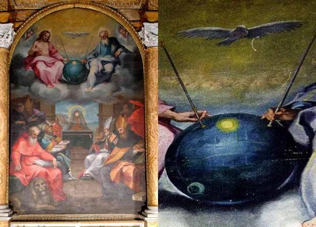 Nghi vấn người ngoài hành tinh xuất hiện trong những kiệt tác hội họa thế giới - Ảnh 6.