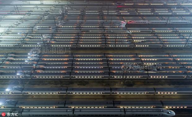Hãy xem các nhà ga Trung Quốc chuẩn bị để ứng chiến với cuộc đại di cư mùa Tết như thế nào - Ảnh 4.