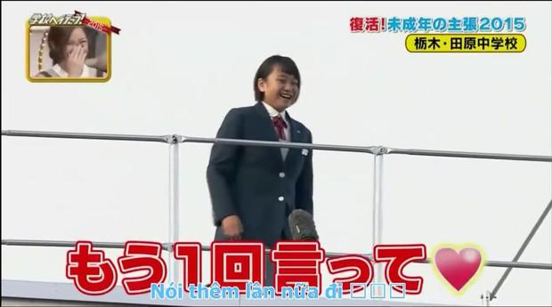 Đoạn video hot nhất mạng xã hội: nữ sinh Nhật Bản bắc loa, tỏ tình người yêu trước toàn trường - Ảnh 4.
