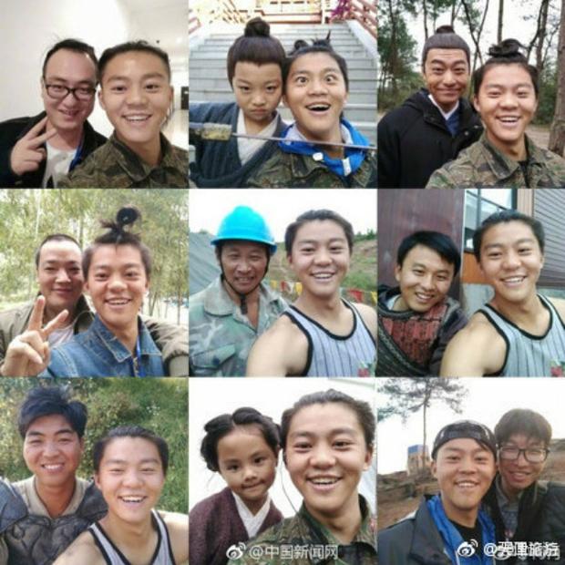 Mong thành diễn viên nổi tiếng, anh chàng selfie cùng hơn 3.000 người lạ - Ảnh 3.
