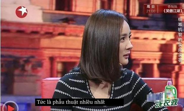 Dương Mịch đáp trả câu hỏi đã động chạm dao kéo cực xuất sắc và khôn khéo! - Ảnh 5.