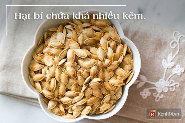 5 lý do bạn không nên vứt hạt đi sau khi ăn bí đỏ - Ảnh 3.