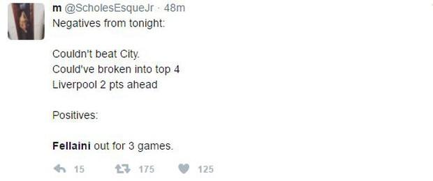 Fan Man Utd muốn treo giò Fellaini 18 tháng vì húc đầu Aguero - Ảnh 5.