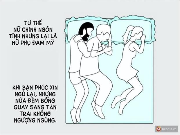 Tư thế ngủ nói lên điều gì về mối quan hệ yêu đương của bạn? - Ảnh 13.
