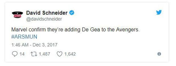 De Gea được triệu vào Avengers khi cản 15 cú sút của Arsenal lẫn... Lukaku - Ảnh 4.