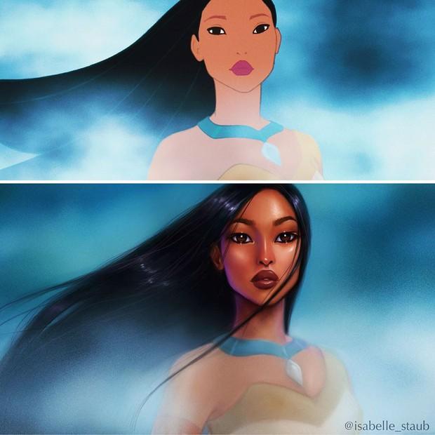 Chiêm ngưỡng nhan sắc lồng lộn của những nàng công chúa Disney sau khi đi phẫu thuật thẩm mỹ - Ảnh 5.