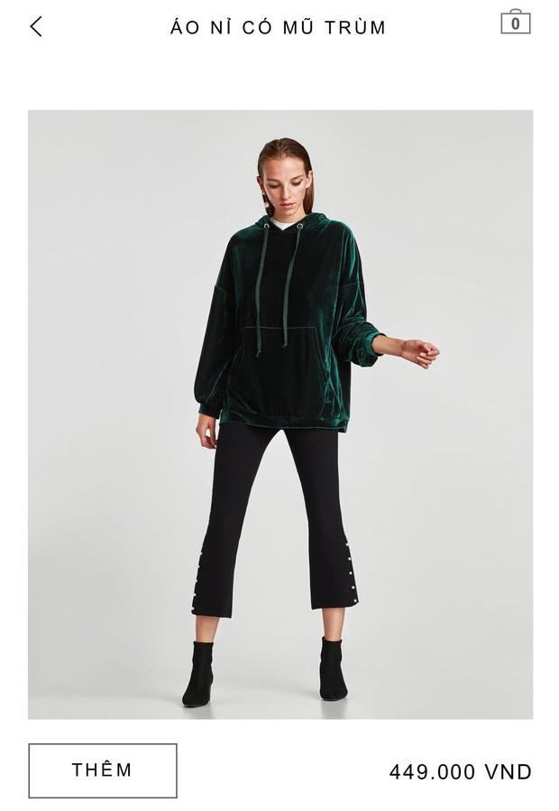 14 mẫu áo len, áo nỉ dưới 500.000 VNĐ trendy đáng sắm nhất đợt sale này của Zara - Ảnh 12.