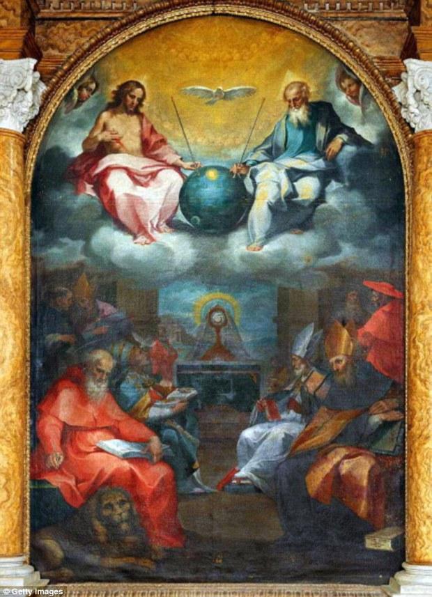Nghi vấn người ngoài hành tinh xuất hiện trong những kiệt tác hội họa thế giới - Ảnh 5.