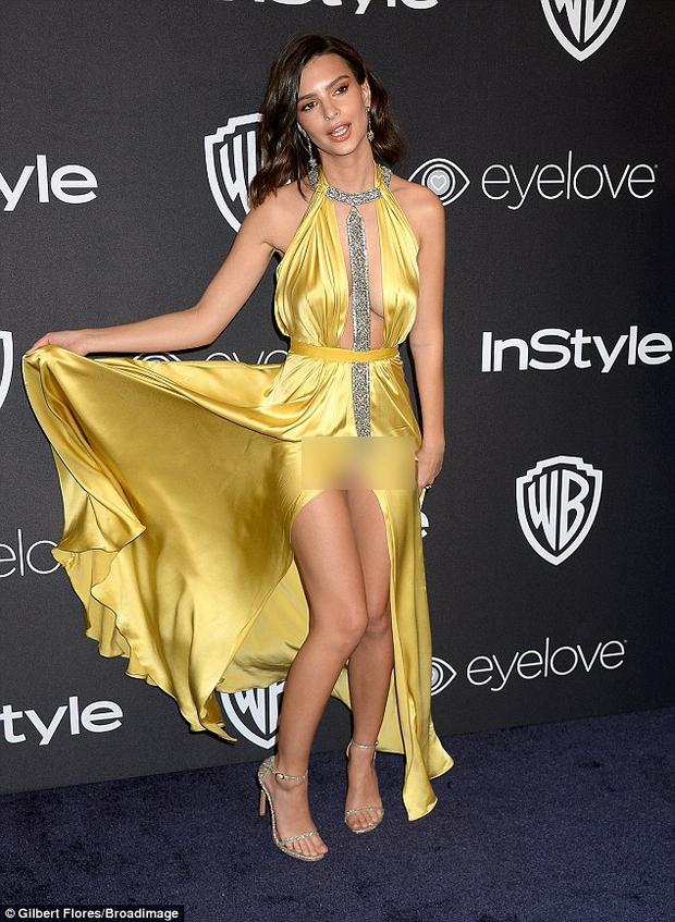 Hậu Quả Cầu Vàng: Miranda Kerr trễ nải sexy, mỹ nhân Blurred Lines hớ hênh trên thảm đỏ - Ảnh 9.