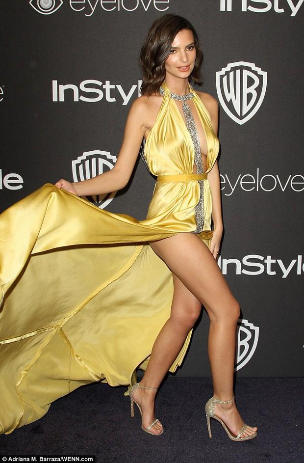 Hậu Quả Cầu Vàng: Miranda Kerr trễ nải sexy, mỹ nhân Blurred Lines hớ hênh trên thảm đỏ - Ảnh 8.