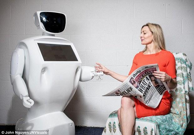 Không những việc tay chân, dân văn phòng sau này cũng thất nghiệp vì robot - Ảnh 1.