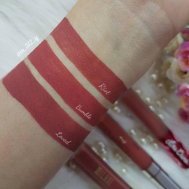 Mê màu son của Đào Bá Lộc, bạn không thể bỏ qua 6 cây son kem hồng đất tương tự đẹp xuất sắc này - Ảnh 8.