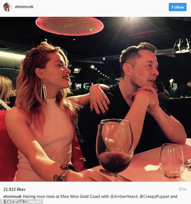 Amber Heard xác nhận hẹn hò tỷ phú Elon Musk giàu gấp bội chồng cũ Johnny Depp - Ảnh 2.