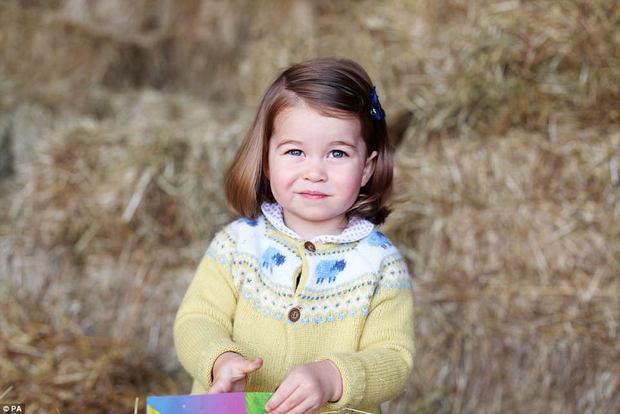 Công chúa nhỏ nước Anh xinh xắn và lớn bổng trong bức ảnh mừng sinh nhật lần thứ 2 - Ảnh 1.