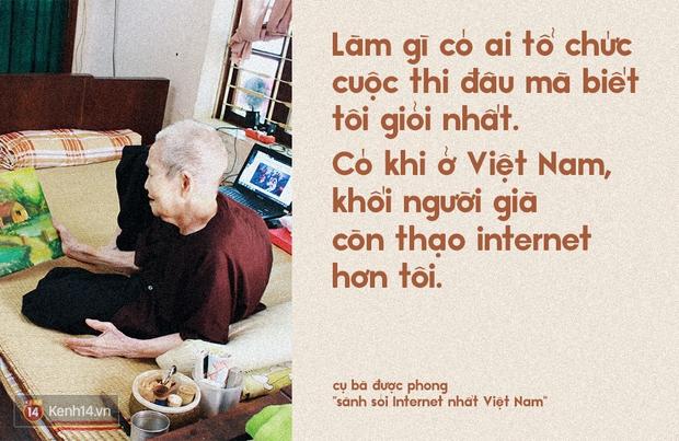 Gặp cụ bà 97 tuổi được phong sành sỏi Internet nhất Việt Nam: Tôi bị ung thư 3 năm nay, nhưng còn sức thì còn học! - Ảnh 2.