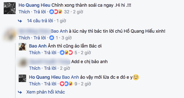 Đăng ảnh với Bảo Anh, Hồ Quang Hiếu bất ngờ bị bạn gái bóc mẽ sống ảo - Ảnh 4.
