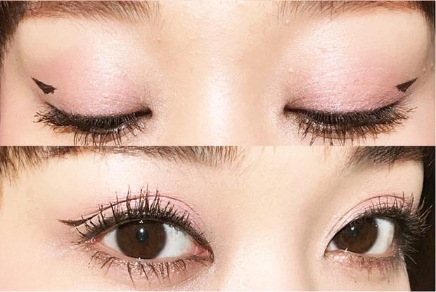 Trong khi bạn còn đang kẻ mắt mèo thì con gái Nhật đã chuyển sang kiểu kẻ mắt siêu đơn giản mà hay ho này - Ảnh 4.
