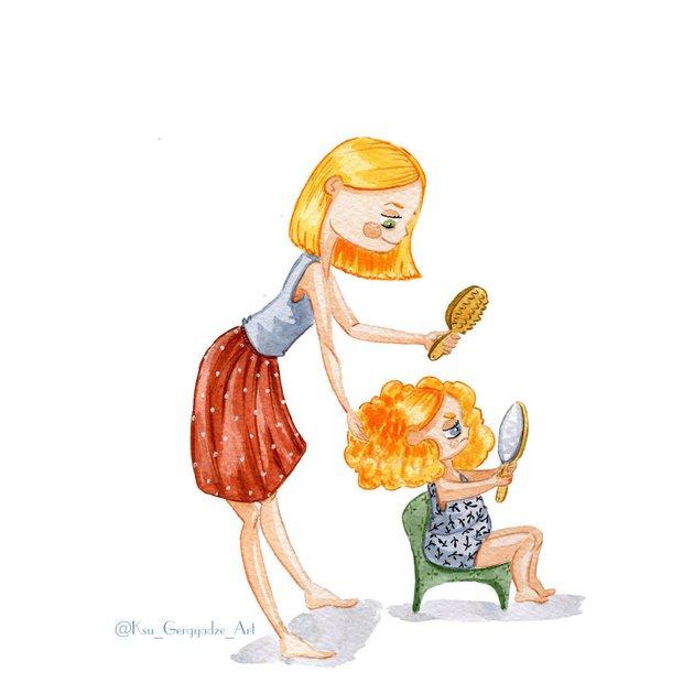Bộ tranh: Vì con gái nhỏ, mẹ sẽ làm tất cả - Ảnh 7.