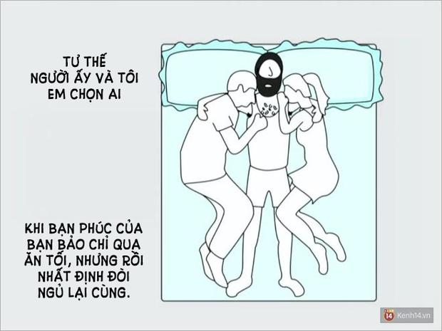 Tư thế ngủ nói lên điều gì về mối quan hệ yêu đương của bạn? - Ảnh 11.