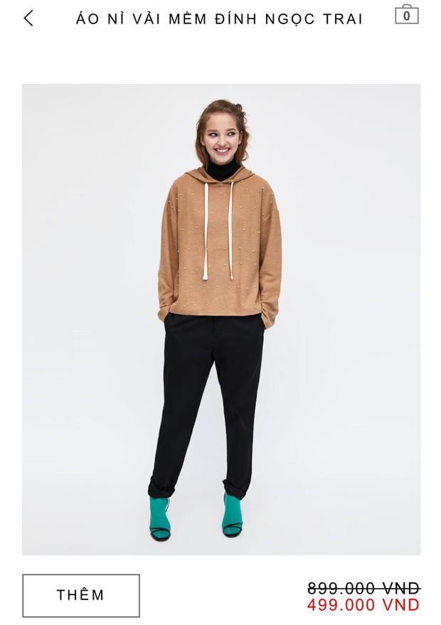 14 mẫu áo len, áo nỉ dưới 500.000 VNĐ trendy đáng sắm nhất đợt sale này của Zara - Ảnh 9.