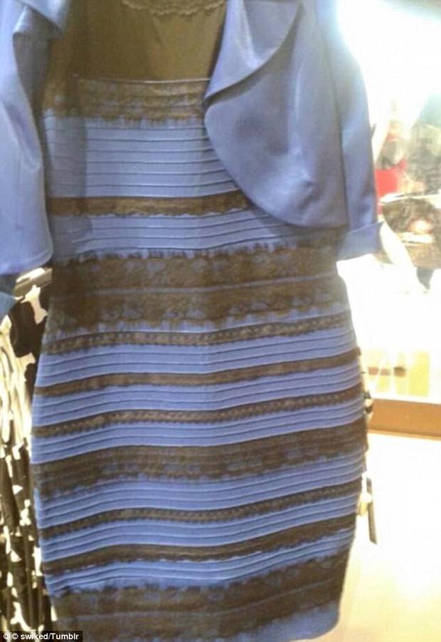 Ảo ảnh thị giác khiến chiếc váy gây tranh cãi nhất thế giới lại một lần nữa xuất hiện - Ảnh 1.